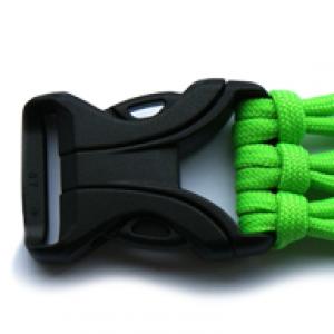 Starke buckle Schwarz - YKK Qualität | 25mm