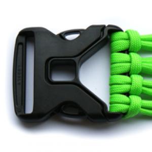 Starke buckle Schwarz - YKK Qualität | 38mm