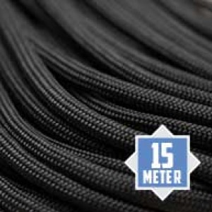 Charcoal grey Paracord 550 Typ 3 Ø 4mm (15m)