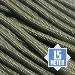 Foliage green Paracord 550 Typ 3 Ø 4mm (15m)