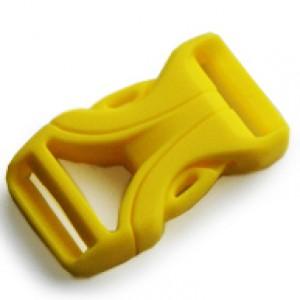 Luxe Buckle Gelb - YKK Qualität | 16mm (5/8)