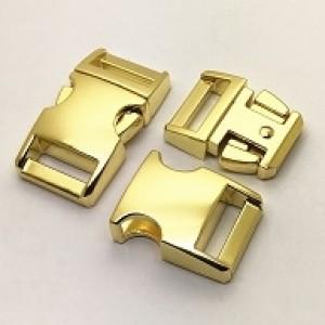 "Schnalle Metall gold 5/8"" (M)"