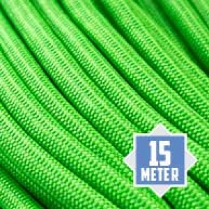 Neon green Paracord 550 Typ 3 Ø 4mm (15m)
