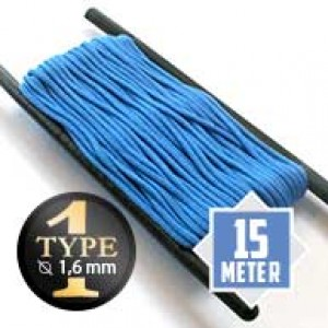 Colonial blue Paracord Typ I Ø 2mm (15m)