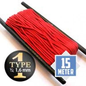 Imperial red Paracord Typ I Ø 2mm (15m)