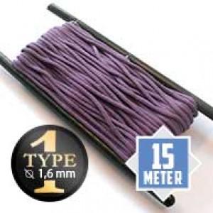 Lilac Paracord Typ I Ø 2mm (15m)