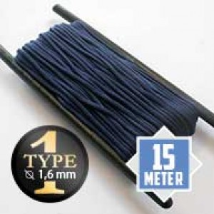 Midnight Blue Paracord Typ I Ø 2mm (15m)