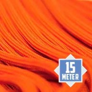 Neon orange Paracord 550 Typ 3 Ø 4mm (15m)