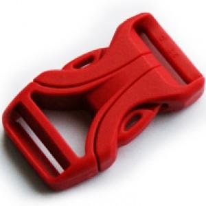 Luxe Schnalle Rot - YKK Qualität | 16mm (5/8)