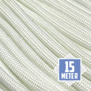 White 550 Paracord 550 Typ 3 Ø 4mm (15m)