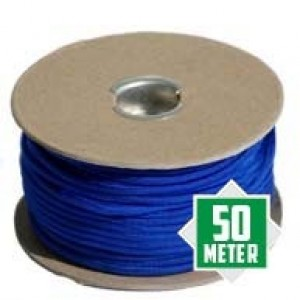 Electric Blue Spuhle Paracord 550 Typ 3 Ø 4mm (50m)