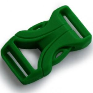 Luxe Buckle Grün - YKK Qualität | 16mm (5/8)
