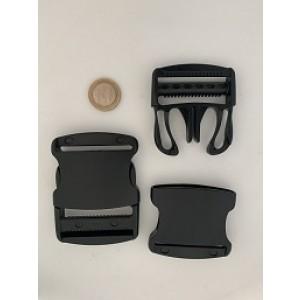 Starke buckle Schwarz - YKK Qualität | 50mm