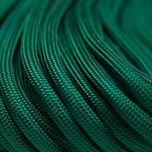 Kelly green Paracord 550 Typ 3 Ø 4mm (15m)