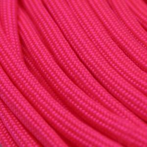 Neon pink Paracord 550 Typ 3 Ø 4mm (15m)