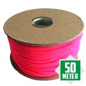 Neon Pink Spuhle Paracord 550 Typ 3 Ø 4mm (50m)