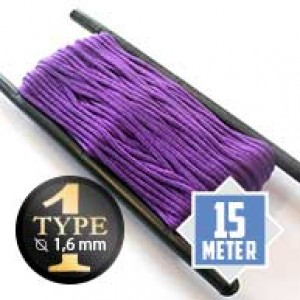 Acid purple Paracord Typ I Ø 2mm (15m)