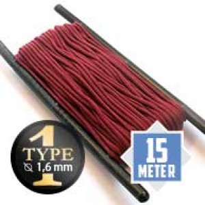 Burgundy Paracord Typ I Ø 2mm (15m)