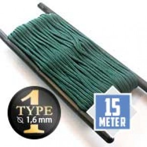 Emerald Green Paracord Typ I Ø 2mm (15m)