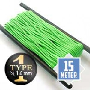 Neon green Paracord Typ I Ø 2mm (15m)