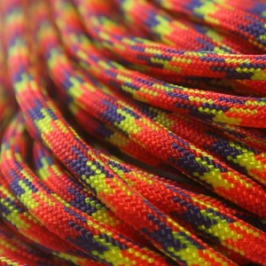 Phoenix sunrise Paracord 550 Typ 3 Ø 4mm (15m)