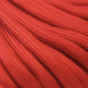 Scarlet Red 550 Paracord 550 Typ 3 Ø 4mm (15m)