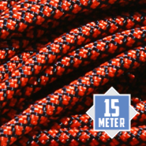 Neon Orange Diamonds Paracord 550 Typ 3 Ø 4mm (15m)
