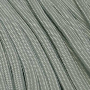 Silver grey Paracord 550 Typ 3 Ø 4mm (15m)
