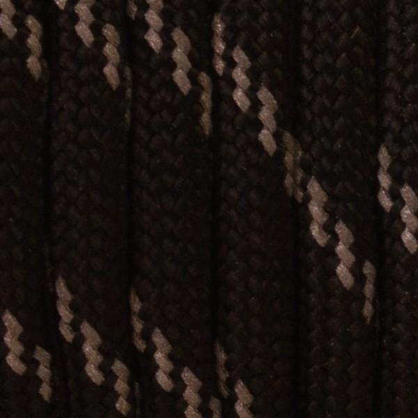 Reflecterend 550 Paracord Zwart zonder Reflectie